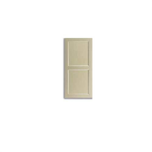 Recessed Short Panel in Almond